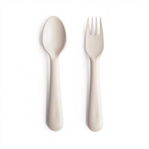 MUSHIE stalo įrankių rinkinys, 2 vnt. (Ivory)