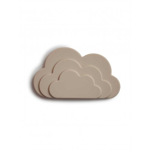 "MUSHIE silikoninis kramtukas ""Cloud"" (Gray)"
