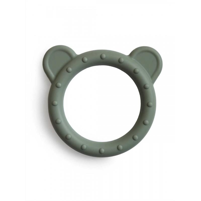 """MUSHIE silikoninis kramtukas """"Bear"""" (Dried Thyme)"""