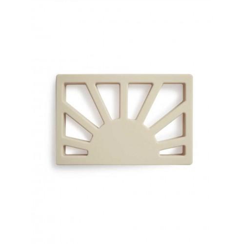 "MUSHIE silikoninis kramtukas ""Sun"" (Shifting Sand)"