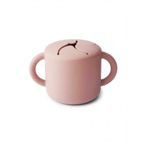"""MUSHIE užkandžių puodelis """"Blush"""""""