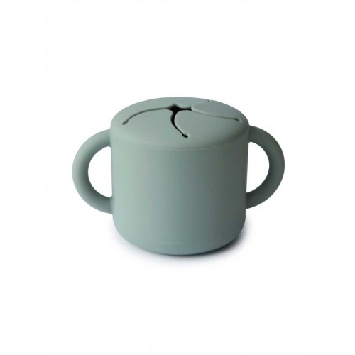 """MUSHIE užkandžių puodelis """"Cambridge Blue"""""""