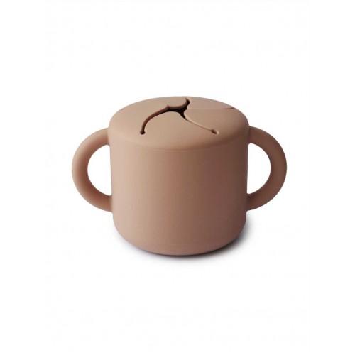 """MUSHIE užkandžių puodelis """"Natural"""""""