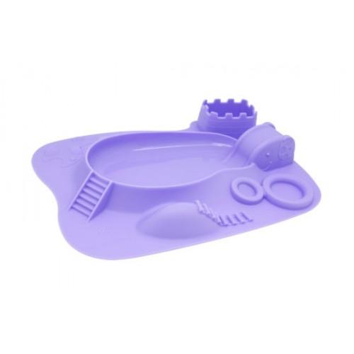 """MARCUS&MARCUS silikoninė lėkštė – žaidimų padėkliukas """"Willo"""""""