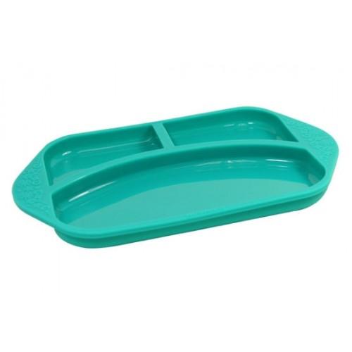 """MARCUS&MARCUS silikoninė lėkštė su skyriais """"Ollie"""" (pažeista pakuotė)"""