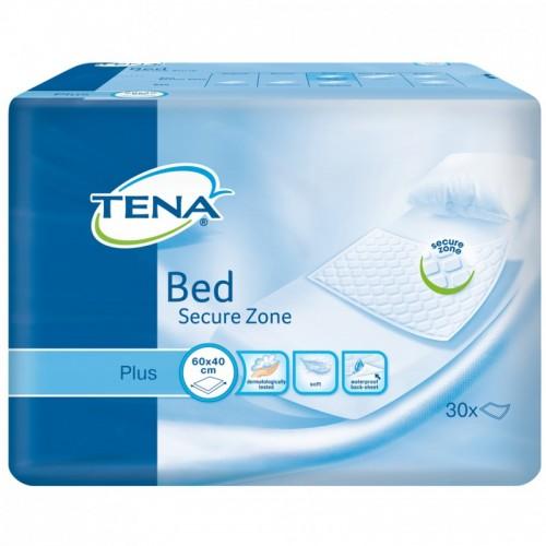 """TENA Plus vienkartiniai paklotai """"Bed Secure Zone"""" 40x60 cm. 30 vnt."""