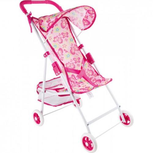 SMALL FOOT sulankstomas lėlės vežimėlis