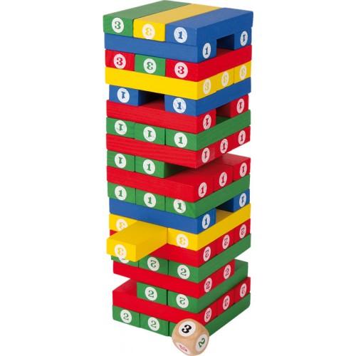 """SMALL FOOT žaidimas """"Kaladėlių bokštas"""""""