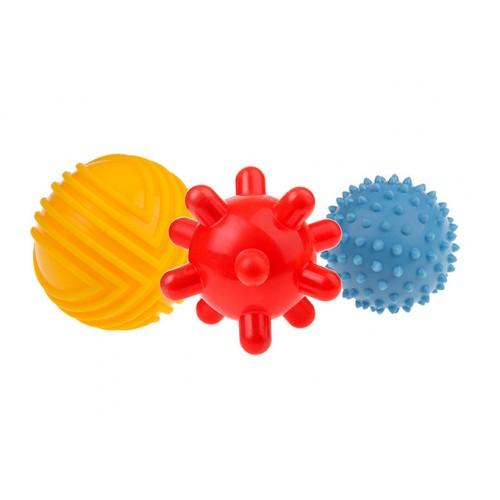 TULLO kamuoliukai sensoriniam vystymui 3 vnt.
