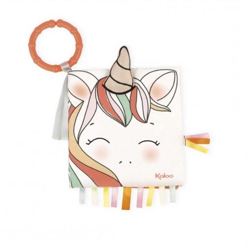 """KALOO atradimų ir veiklos knygelė """"The Happy Unicorn"""""""