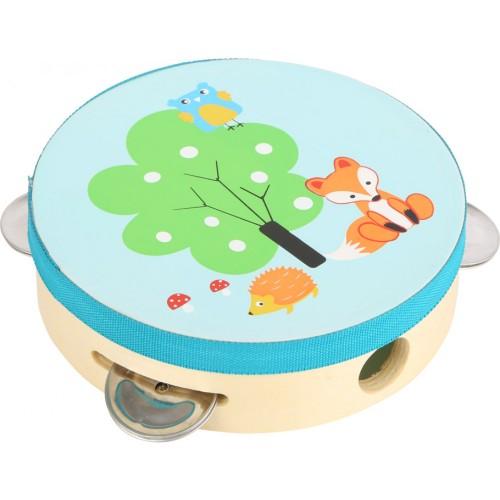 "SMALL FOOT tamburinas ""Little Fox"""