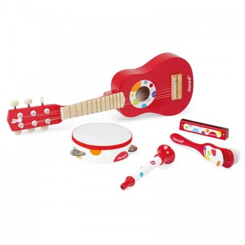 """JANOD muzikos instrumentų rinkinys """"Confetti Music Live Musical Set"""""""