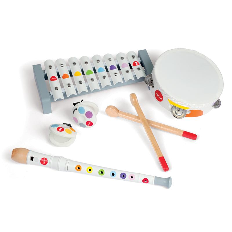 JANOD muzikos instrumentų rinkinys