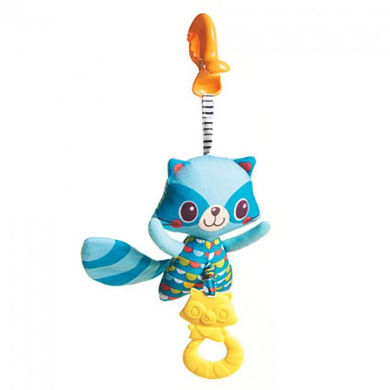 """TINY LOVE pakabinamas vibruojantis žaislas """"Jittering Raccoon"""""""