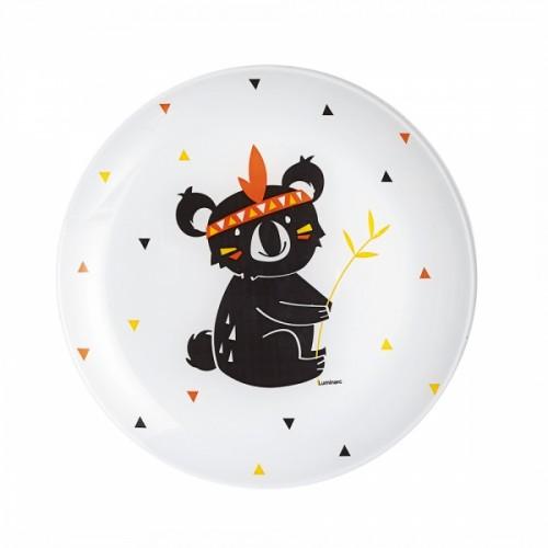 """LUMINARC vaikiška lėkštė """"KOTIPI"""", 20,5 cm"""