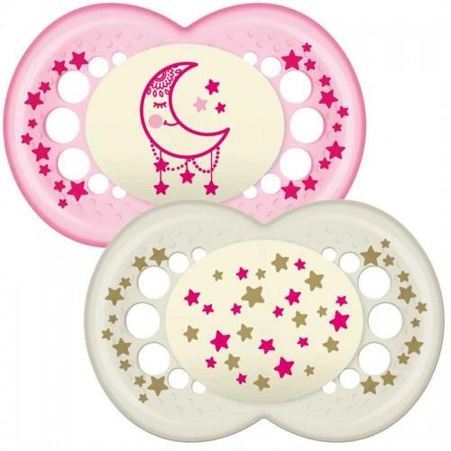 "MAM 12+ mėn. ""Night Pink"" čiulptukas"