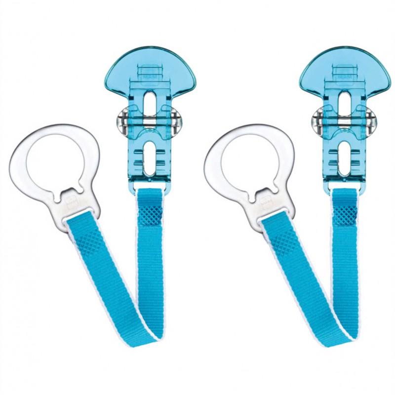 """MAM čiulptuko laikiklis """"Style"""" (blue)"""