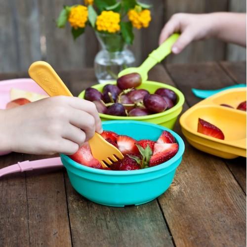 Vaikiški dubenėliai, lėkštės ir kiti indai
