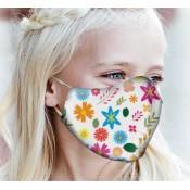 Apsauginės kaukės mergaitėms