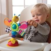 Kūdikių maitinimo kėdučių žaislai