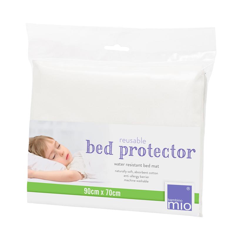 BAMBINO MIO 90x70 cm vaikiškos lovytės apsauginė paklodė-paklotas