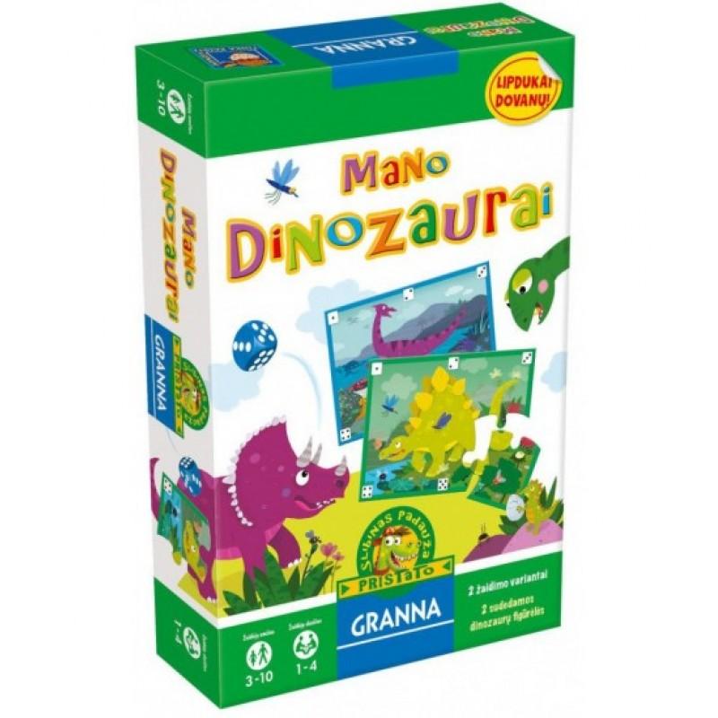 """GRANNA žaidimas """"Mano dinozaurai"""""""