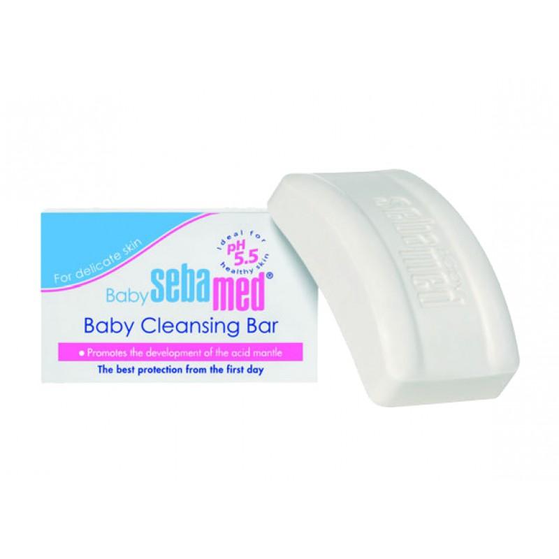 """SEBAMED muilas be šarmų kūdikiams """"Baby Cleansing Bar"""" 100 g."""