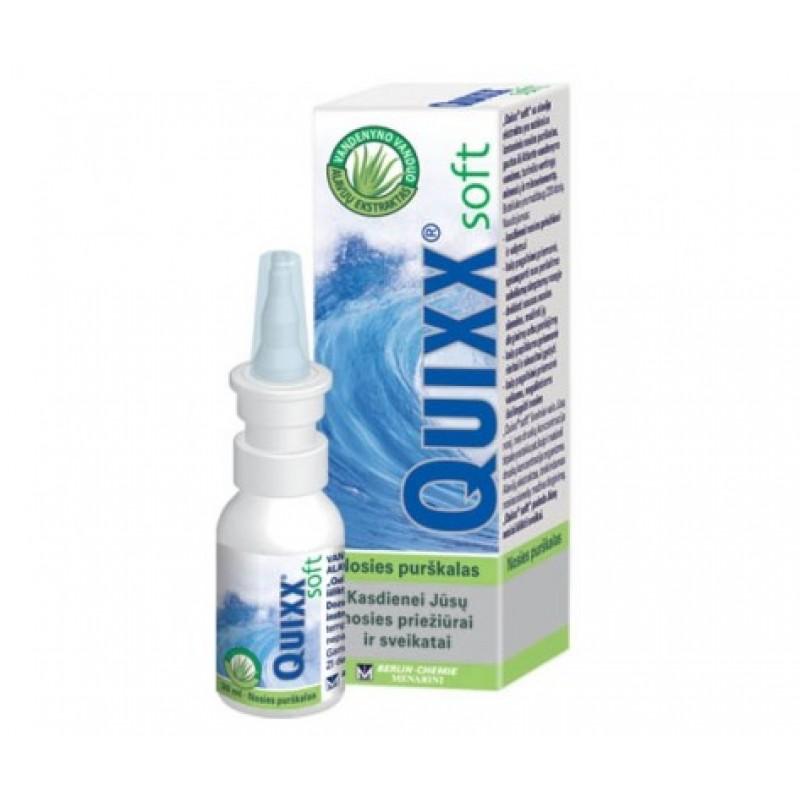"""QUIXX nosies purškalas """"Soft nasal spray"""" 30 ml."""