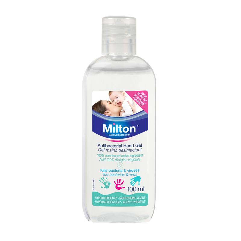 MILTON antibakterinis rankų gelis 100 ml