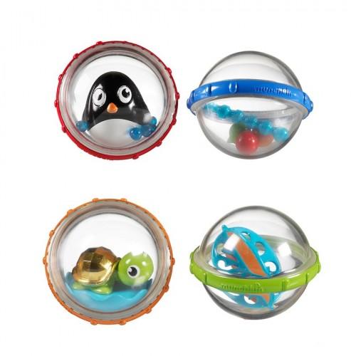 """MUNCHKIN vonios žaislas linksmieji kamuoliukai """"Float and Play Bubbles"""""""